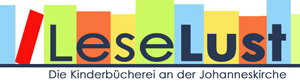 Logo LeseLust - Leselust - Ev. Kinderbücherei an der Johanneskirche